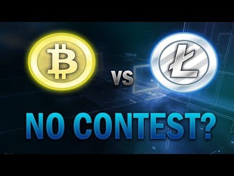 Litecoin Vs Bitcoin - No Contest?