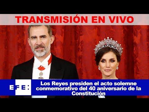 En directo | Los Reyes presiden el 40 aniversario de la Constitución