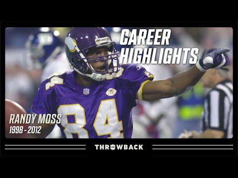 Randy Moss' Ultimate Career Highlight Reel   NFL Legends Highlights