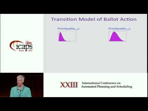 ICAPS 2013: Daniel Weld (Invited Talk) - Planning to Control Crowd Sourced Workflows