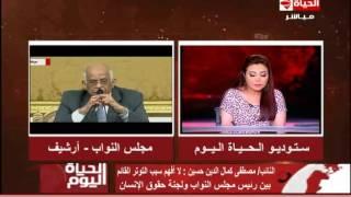 بالفيديو.. برلماني: عبدالعال يفتعل الخلاف مع لجنة حقوق الإنسان للإطاحة برئيسها