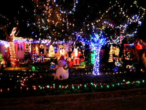 Christmas Lights In Waco Tx 2011 Youtube