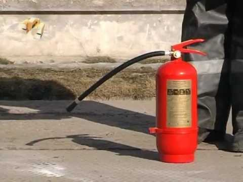Типы огнетушителей.avi