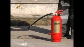 видео Огнетушители: виды и назначение, срок эксплуатации
