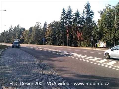 HTC Desire 200 - VGA video - www.mobinfo.cz