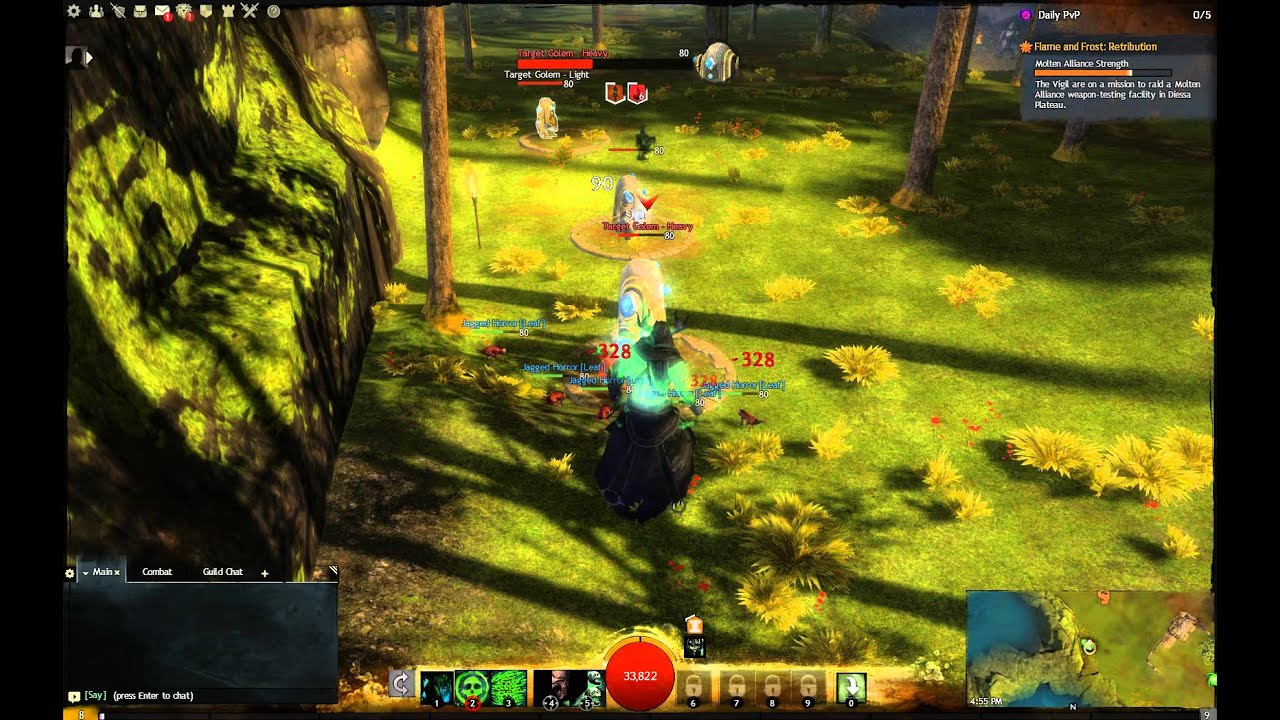 Guild Wars 2 Necromancer Lich Form - YouTube