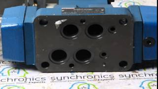 REXROTH - Proportional Valve 0811 404370 4 Warle 16ws180S 0811 404 370 2M20 Repaired at Synchronics