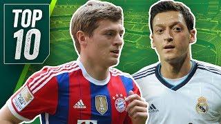 Mega Schnäppchen! Top 10 Transfer Knaller feat. Reus, Özil und Rebic!