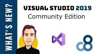 Visual Studio 2019 - New Features (Community Edition)