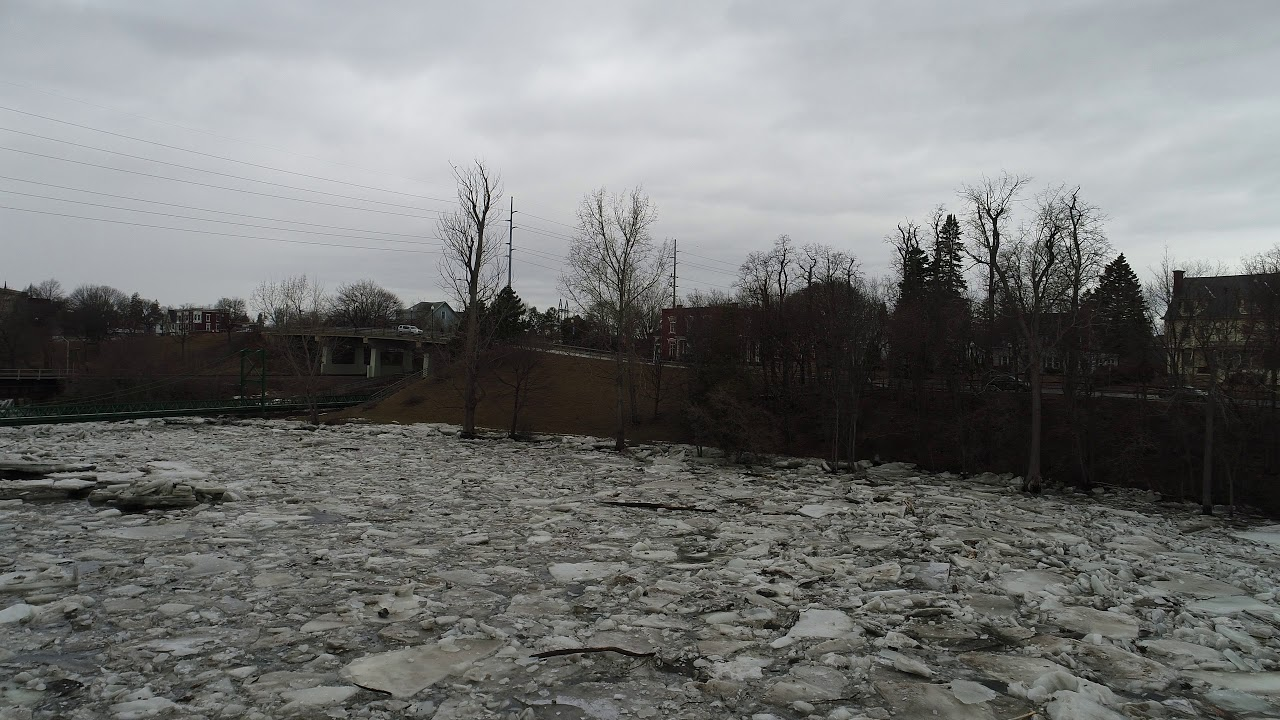 City of Plattsburgh Saranac River Ice Jam A