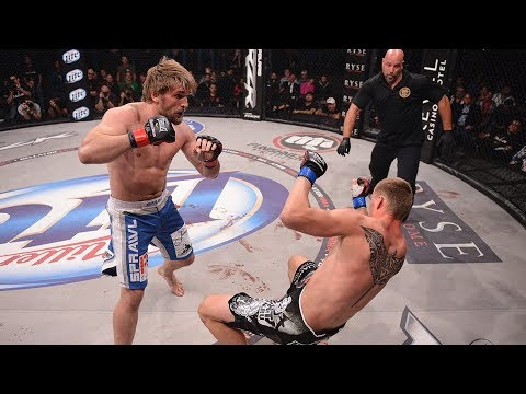 Bellator 216: Vitaly Minakov Finishes