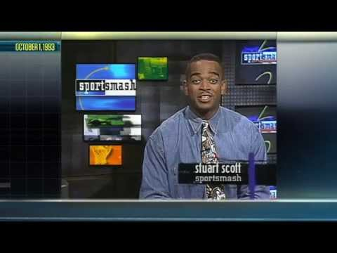 Stuart Scott's First Sportscast