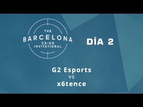 G2 Esports vs x6tence [Train] - Día 2 - ESL Expo Barcelona CS:GO Invitational - Español