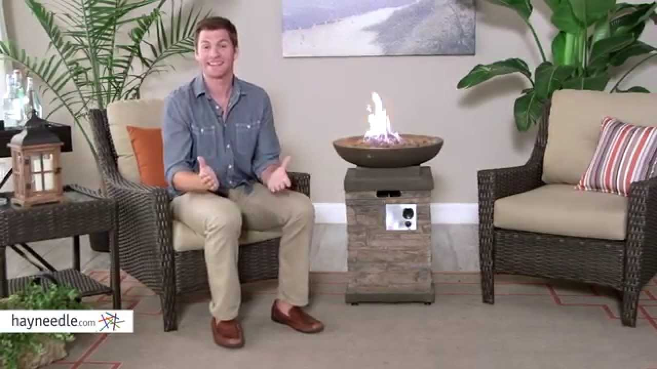 Red Ember Coronado Propane Fire Bowl With Free Cover Product Review Video Youtube