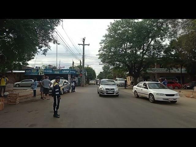 """Ladrón del Mercado armó gran barullo y fue """"frenado"""" por PMT y comerciantes de Luque"""