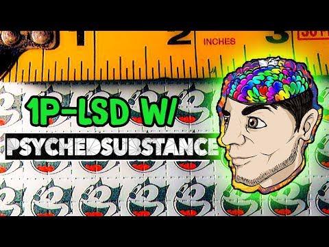 1P-LSD w/ PsychedSubstance | Trip Report