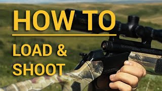 How to load and shoot your CVA muzzleloader 2016 update