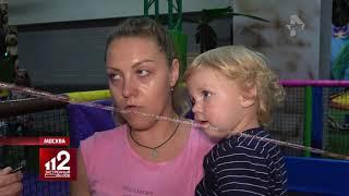 Ватрушка едва не стоила жизни маме с ребенком