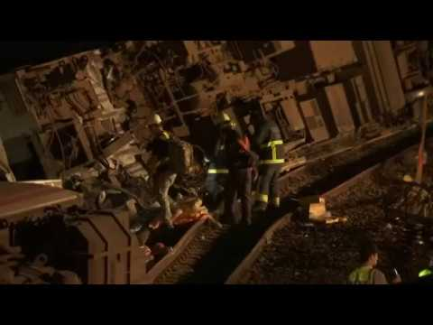 Associated Press: 18 dead in Taiwan train crash