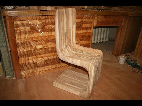 Необычный деревянный стул, часть 3