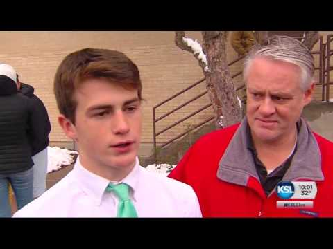 Police: Student fires gun at Bountiful school before his parents disarm him
