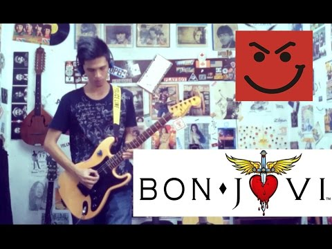 Ill Be There For You Bon Joviguitar Coverwith Chords And Tab