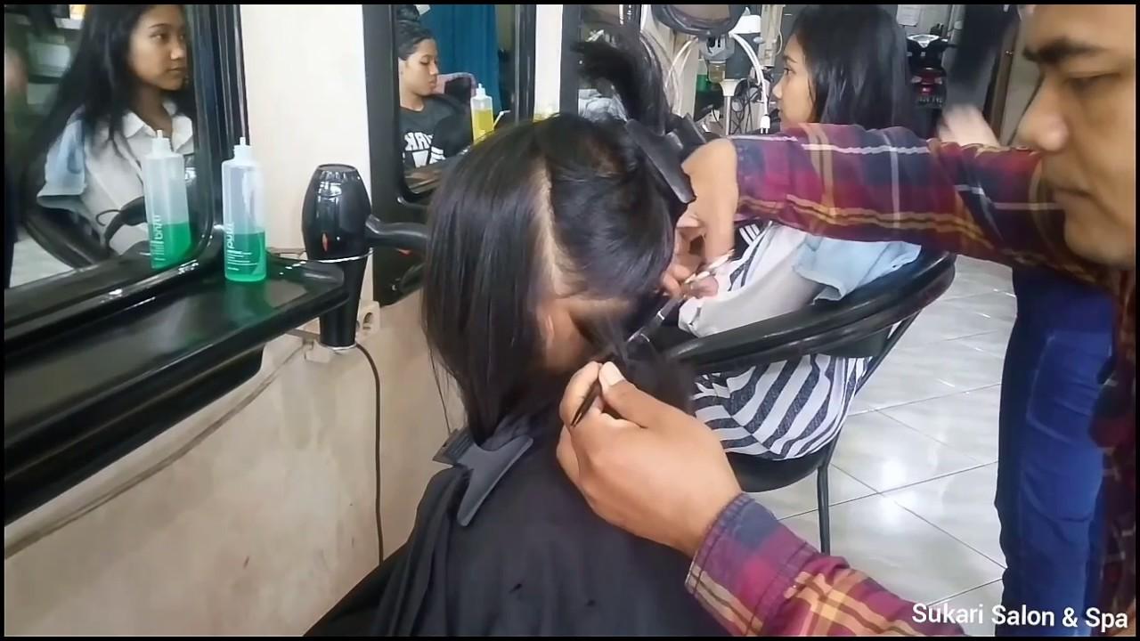 Potong Rambut Bob Nungging Anak anak - YouTube b3829e9875