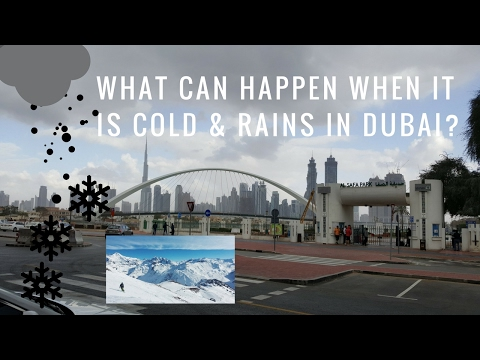 What happens when it rains in Dubai - to BBQ plans 2017 weat
