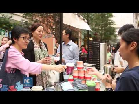 Environmental protection starts from 'Go Cup' in Hong Kong