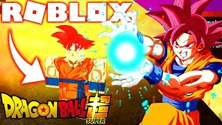 ROBLOX ! DRAGON BALL SUPER - NOVO GOKU SSJ RED / BLUE E VEGETA BLUE ! Dragon Ball Rage Rebirth 2