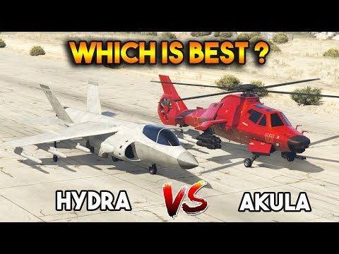 GTA 5 ONLINE : AKULA VS HYDRA (WHICH IS BEST?)