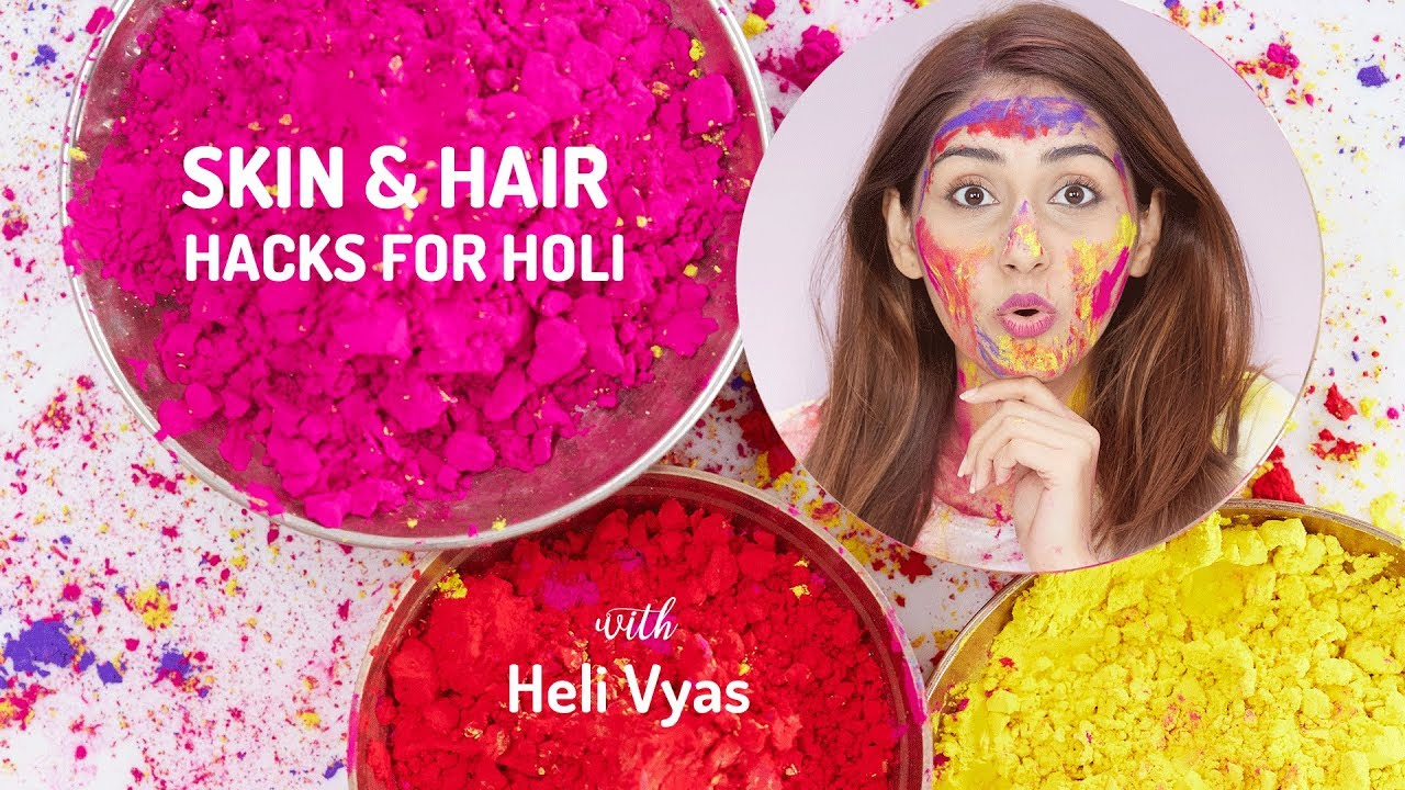 Holi 2019: Essential tips for Holi to avoid skin and hair damage