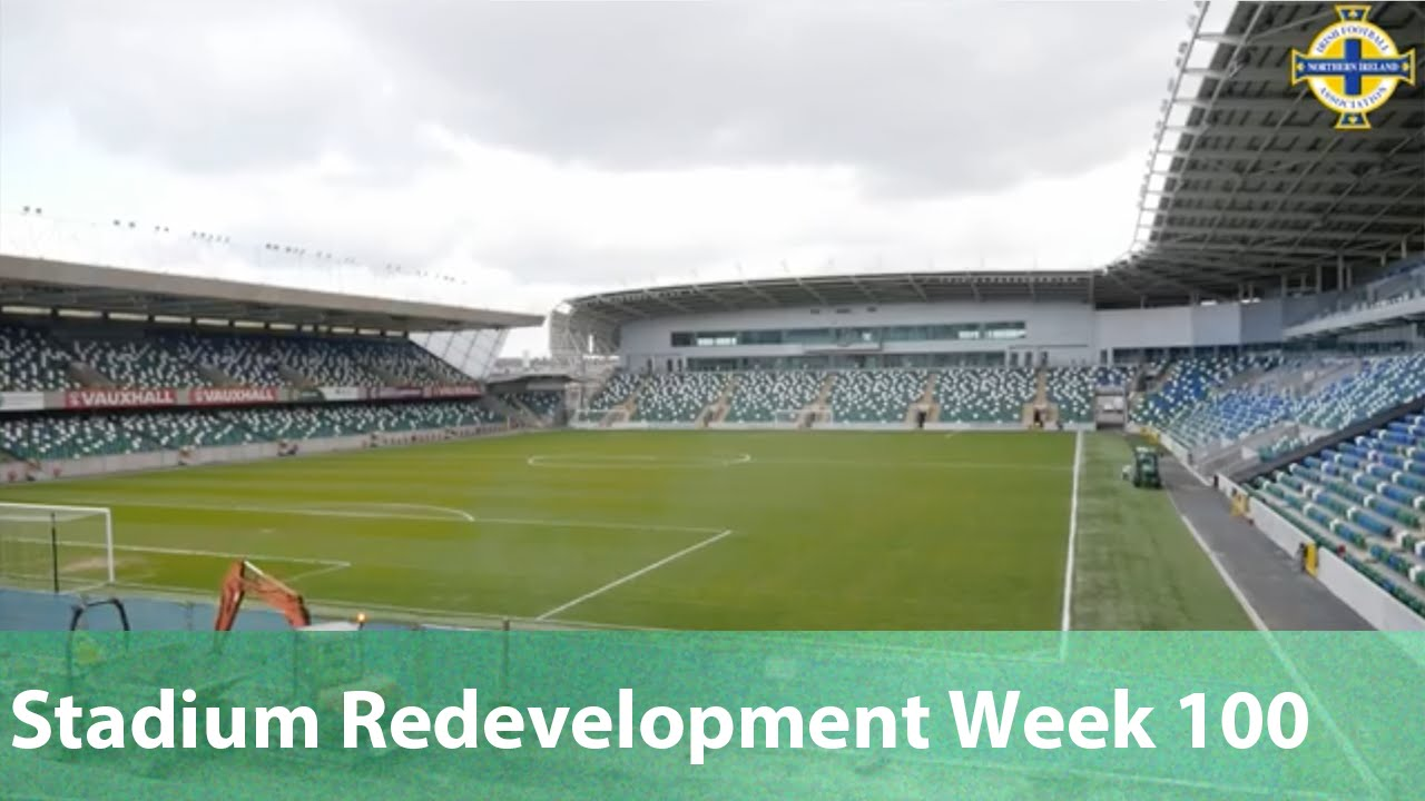 National Stadium At Windsor Park Redevelopment Week 100