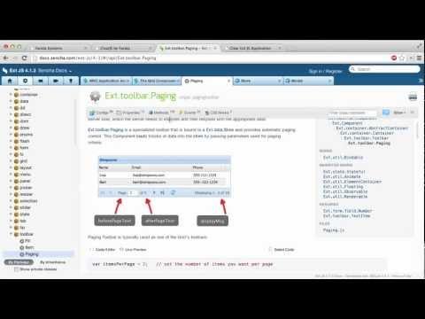 Productive Enterprise Web Development with ExtJS and CDB. Episode 3