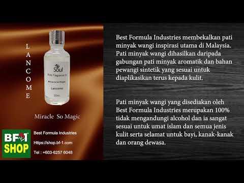 Pati Minyak Wangi Lancome Miracle So Magic