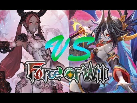 Force of Will (TCG) Feature Match: RB Frayla Dark Elves vs.