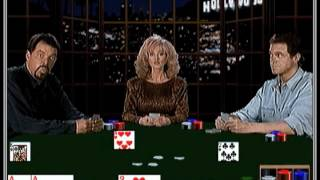Multimedia Celebrity Poker—Frakes Freaks Out