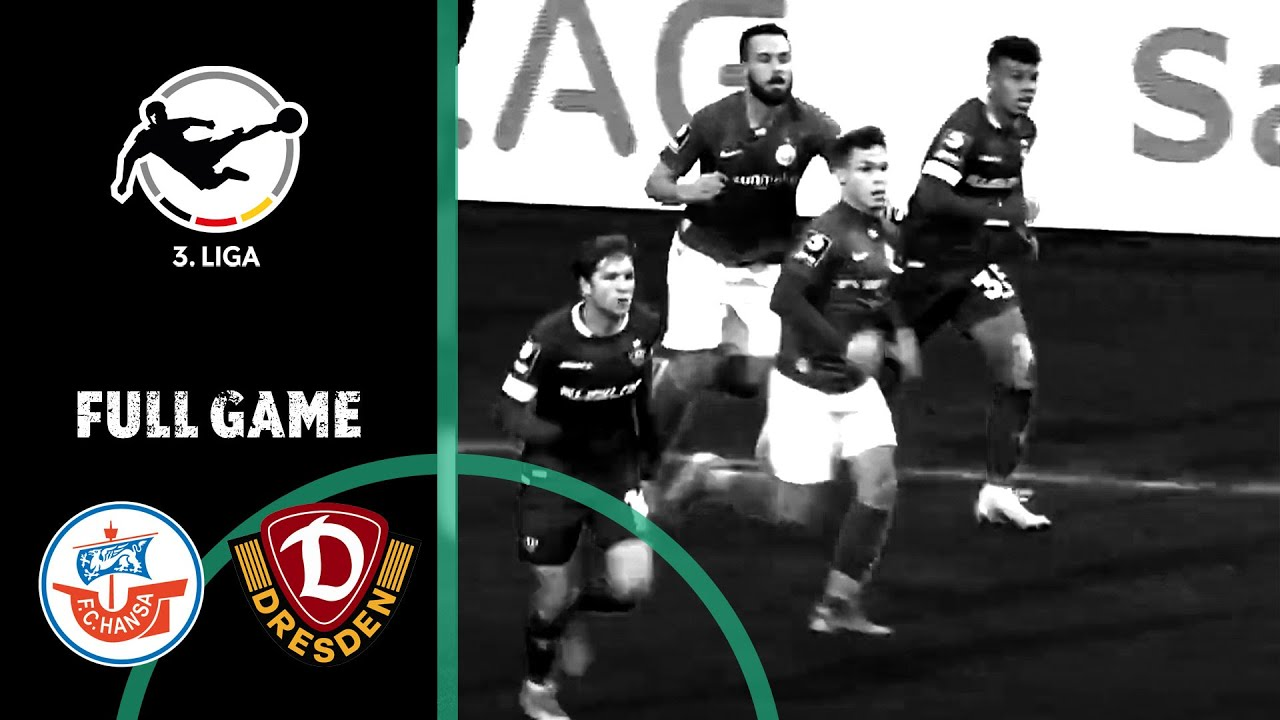 Hansa Rostock vs. Dynamo Dresden 1-3 | Full Game | 3rd Division 2020/21 | Matchday 11