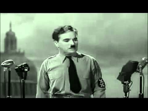 Le dictateur : Discours final de Charlie Chaplin
