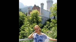 №31  Германия  Замок Нойшванштайн  Мост Мариенбрюке(Сегодня мы с Вами прогуляемся вокруг замка Нойшванштайн по прекрасным тропам и посетим мост Мариенбрюке,..., 2013-07-19T22:14:33.000Z)