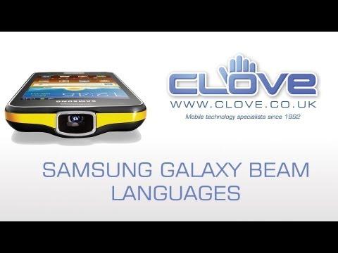 Samsung Galaxy Beam GT-I8530 Languages