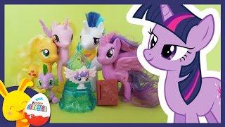 Histoire petit poney My little pony - Princesse Twilight et le bébé - Touni Toys Titounis