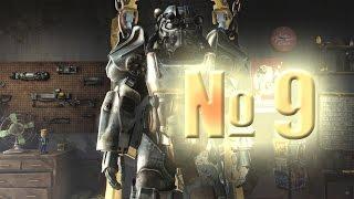 Fallout 4 Часть 9 Чуть не спалил Паладина Данса и море лута который пришлось бросить