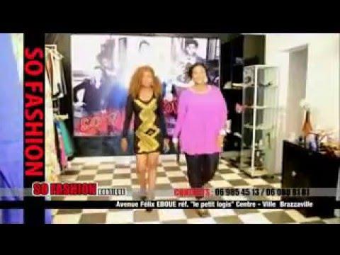 URSULE PESHANGA publicité du boutique So Fashion