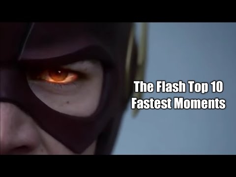 The Flash Top 10 Fastest Moments!!