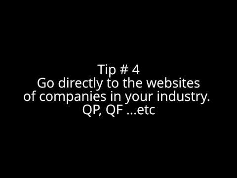 How to find a job in Qatar - Important tips