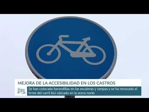Mejora de la accesibilidad en Los Castros