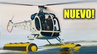 NUEVO HELICÓPTERO DEL FUTURO!! (Sea sparrow) - GTA V ONLINE - GTA 5 ONLINE