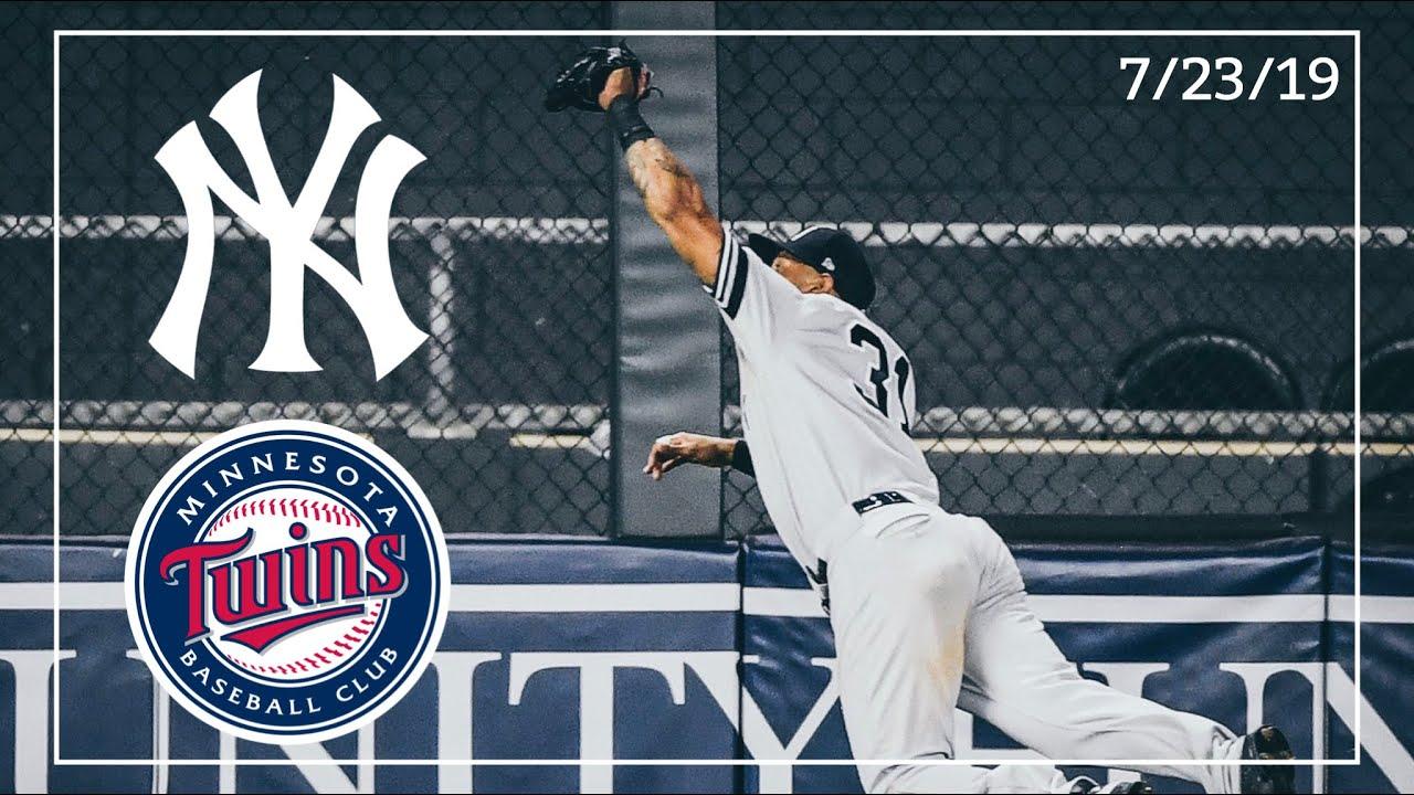 New York Yankees @ Minnesota Twins   Game Highlights   7