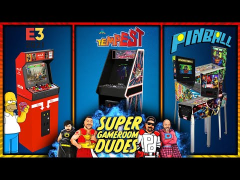 Arcade1Up Legacy Cabinets - The Final Word! Pinball Updates! MVSX E3! iiRcade, AtGames & More! from Detroit Love